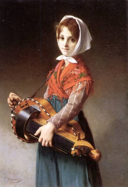 The Hurdy Gurdy Girl